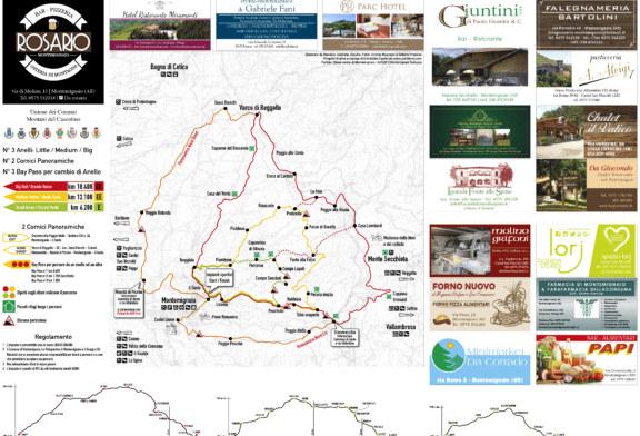 Nuova pista ciclo pedonale 'Valle del Monte Secchieta'