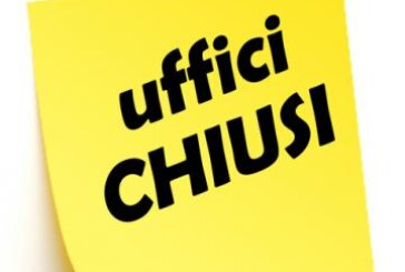 CHIUSURA UFFICI 24 APRILE 2019